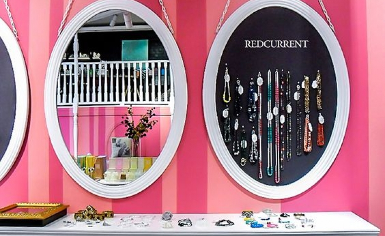Very cute and fresh display ideas from Redcurrent store by Studio Gascoigne, Wellington.