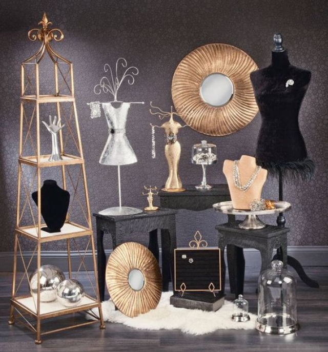Props, decoration and jewelry display pieces from Tripar International, Inc. - Wholesale Visual Displays & Giftware.