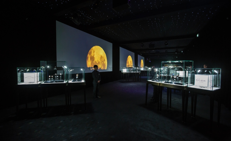 "This was the incredible exhibition setting at 2014's ""Masters of Time"" display."