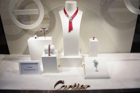 Cartier - Efficient Jewelry Displays