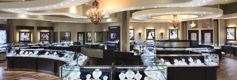 100+ Beautiful Jewelry Store Designs