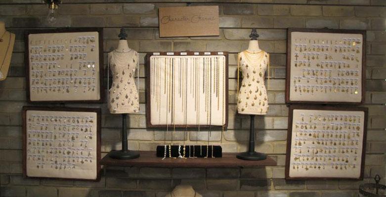 Slatwall Jewelry Display