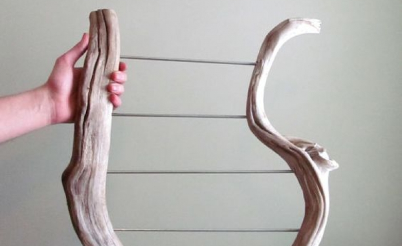 What better than an original design four tired driftwood jewelry holder for earring display, earring stand or even different jewelry organizer.
