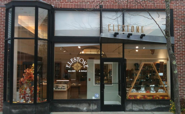 Autumn feeling displayed in the Eleston storefront. Lots of glass windows are a very popular idea, and an exterior with personality is also very eye catching.