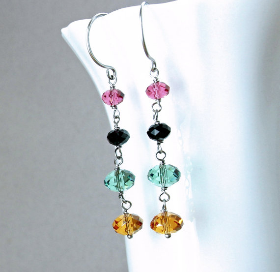colorful-earrings