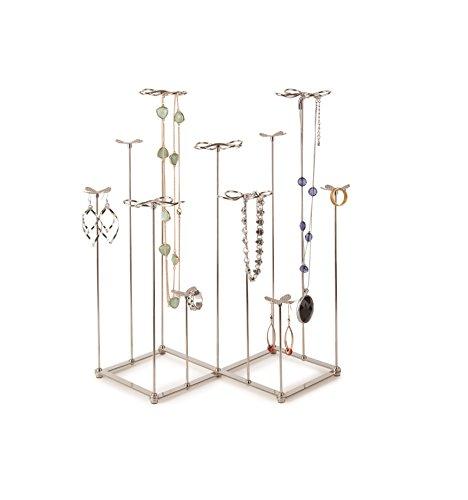 ... Gardenia Large Tall Jewelry Organizer, Holder U0026 Display Stand. ; 