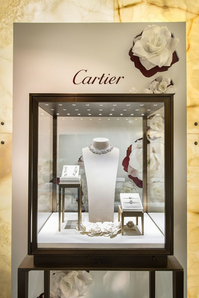 Luxury brands are great inspiration when looking to build your own jewelry display, since they have some of the best jewelry display ideas that you can find.