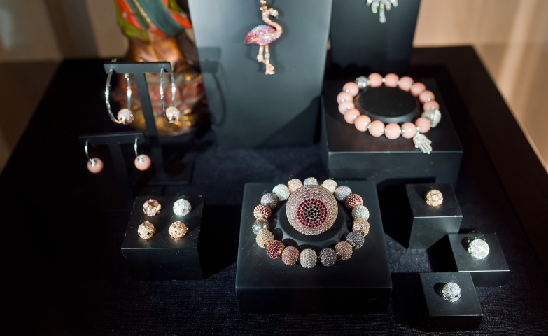 "Another sneak peek from the Thomas Sabo Spring/Summer collection called ""Karma Beads"". Stunning necklaces, bracelets, earrings and rings with colored gems and stones."