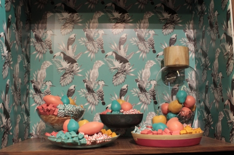 Behance thought that window display decorated with some colored fruits, made from plastic would be perfect for summer.