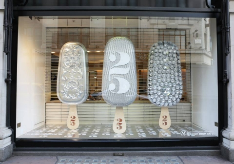 This Magnum shop is celebrating 25 years with a unique summer window display.