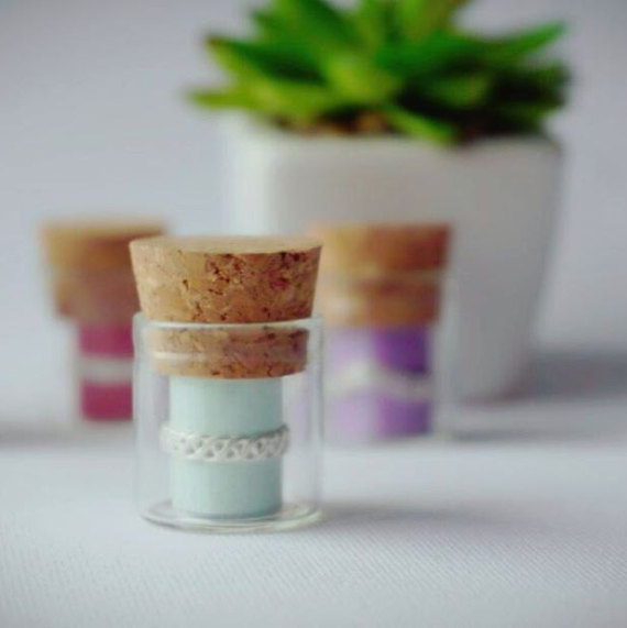 Keep your toe ring in a creative place, a tiny glass or jar, perfect as a jewelry ring holder.
