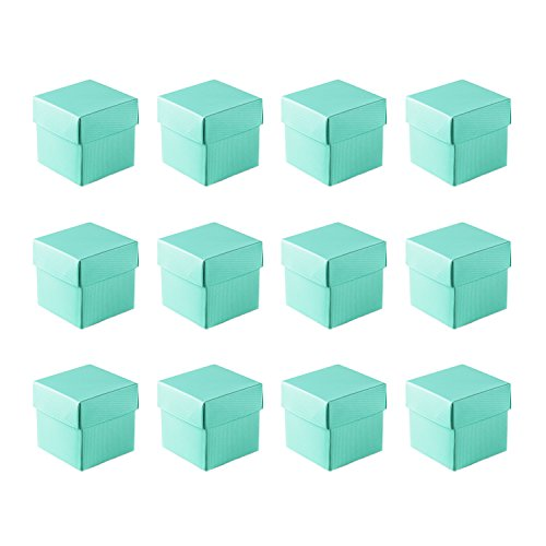 10 Pack Mini Small Square Cube Jewelry Gift Boxes With Lids Usable For Party Favors