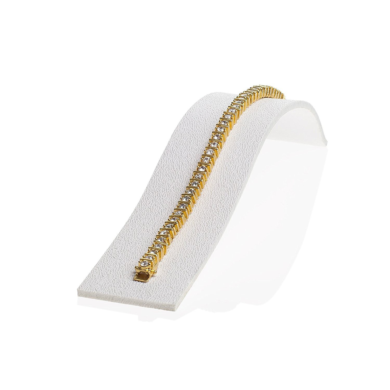 Elegant White Minimalist Bracelet Holder Ramp
