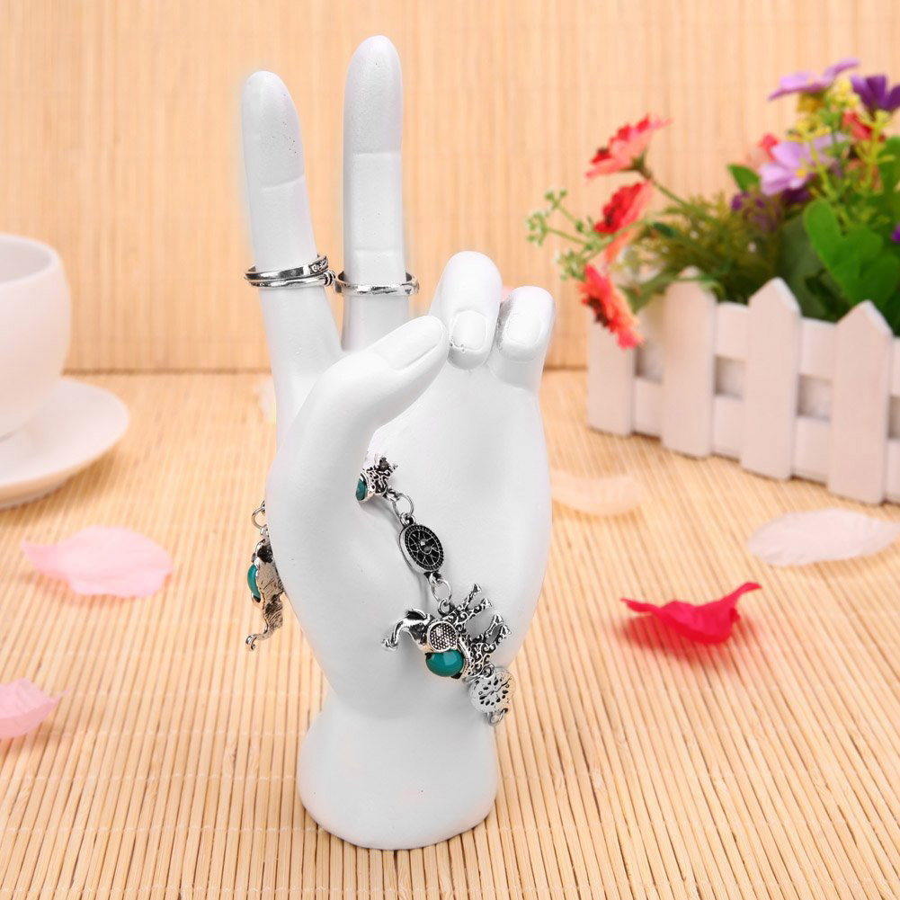 Minimalist White Mannequin Hand Bracelet Holder