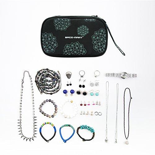 Small Compact Travel Jewelry Organizer Storage Case Zen Merchandiser