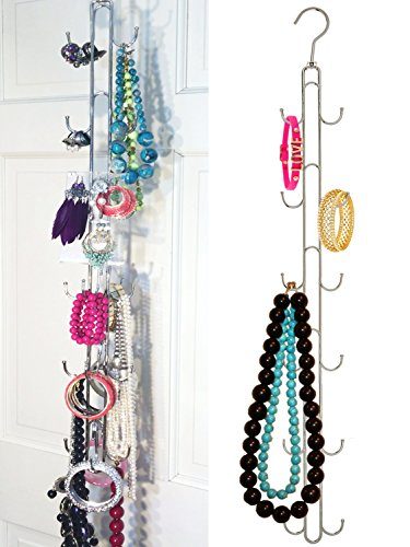 ... Over The Door Jewelry Organizer U0026 Storage Rack. ; 