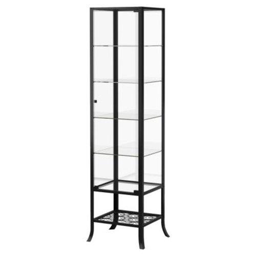 Bon Ikea Simple Lockable Glass Display Cabinet / Tower Display