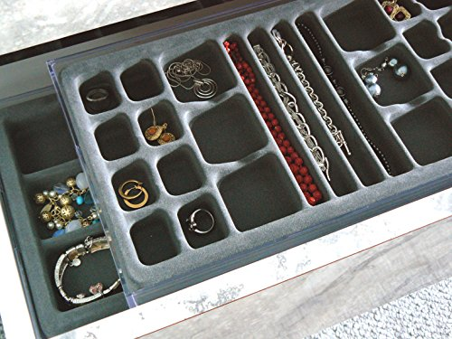 ... Jewelry Organizer, with Velvet Tray, US Patented. ; 