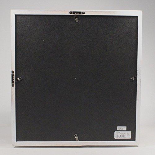 12 x 12 wooden distressed style shadow box display frame zen merchandiser. Black Bedroom Furniture Sets. Home Design Ideas
