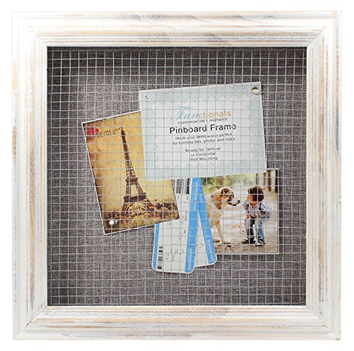 12 X 12 Wooden Distressed Style Shadow Box Display Frame Zen