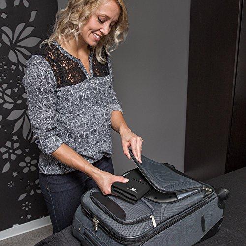 Specialty Travel: Black 2 Pouch Folding Jewelry Travel Organizer Case