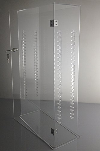 Acrylic Lucite Showcase Jewelry Display Case With