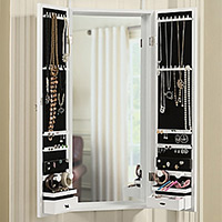 Over The Door Jewelry Organizers