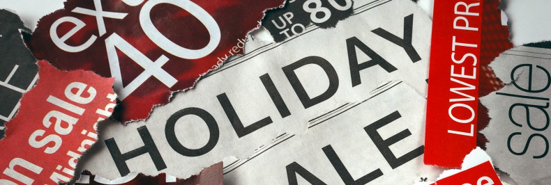 Seasonal Retail Signage Improves Holiday Shopping