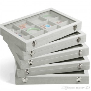 Unusual creative types of jewelry boxes zen merchandiser for Jewelry tray with lid