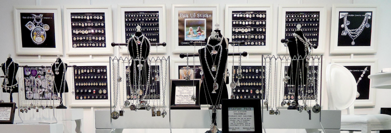 Types Of Exhibition Displays : Types of jewelry displays by shape size form zen