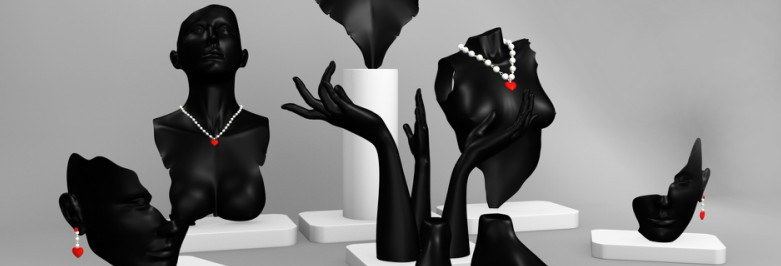 Types of Jewelry Mannequins By Form