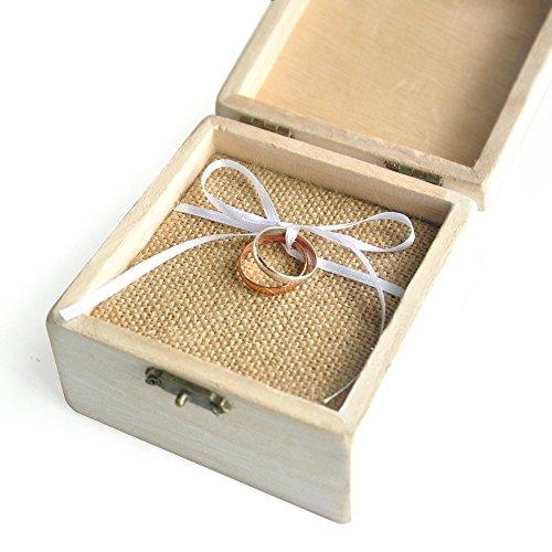 Vintage Wedding Ring Box Bearer Holder