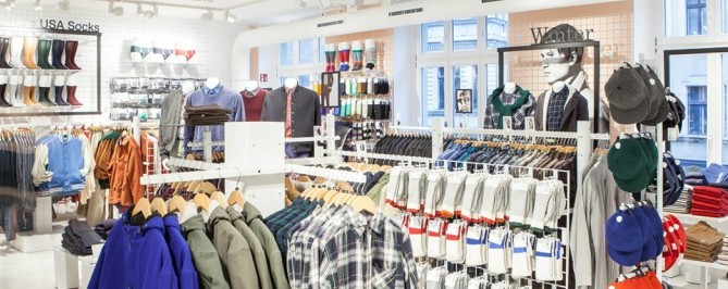 Types of Apparel Display
