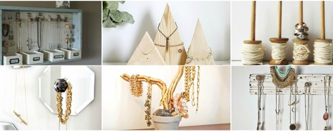 25 Impressive DIY Jewelry Storage & Display Ideas