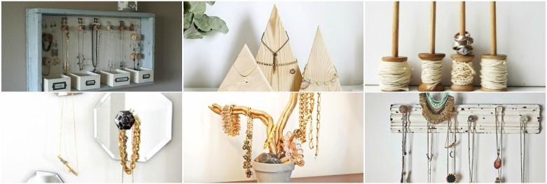 25 Impressive DIY Jewelry Storage & Display Ideas