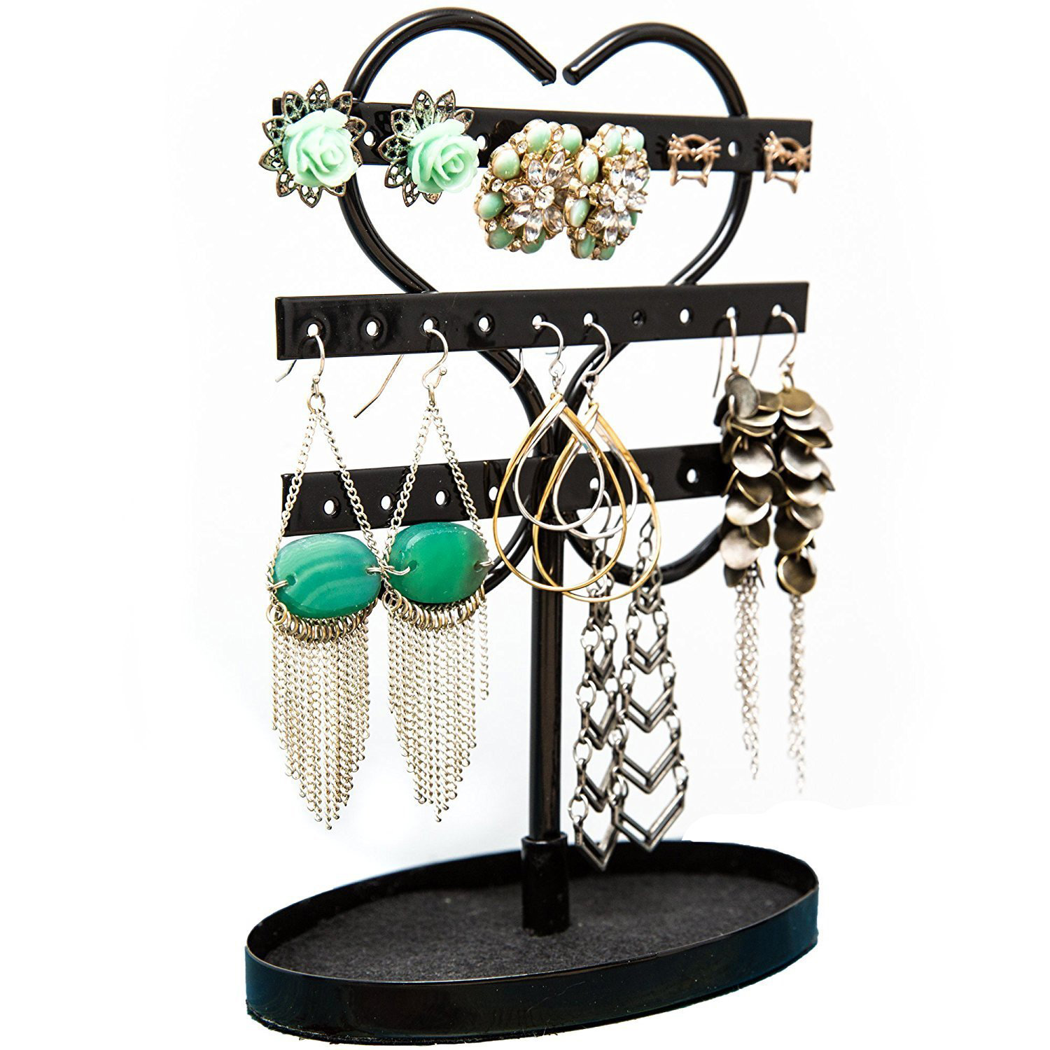 The 15 best stud earring holder zen merchandiser for What metal is best for jewelry