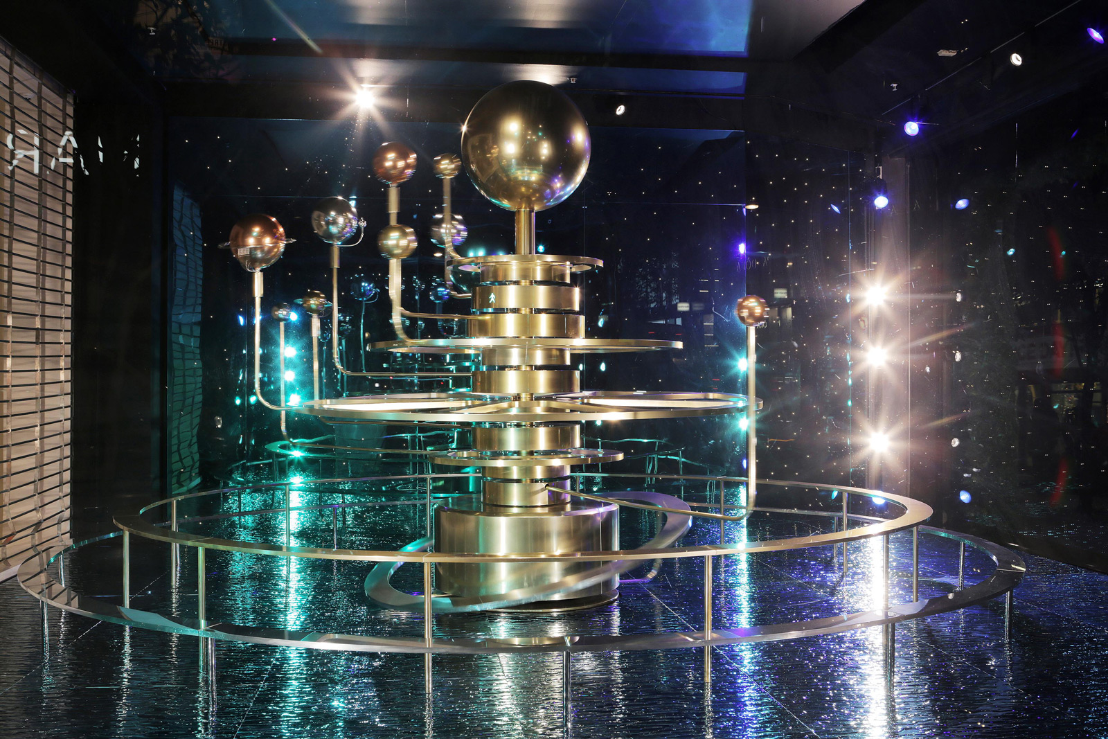 "Selfridges has a different theme for Christmas window display, and it's called ""Journey to the stars""."
