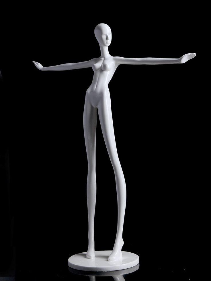 25 beautiful mannequin jewelry holders zen merchandiser for Lady mannequin jewelry holder