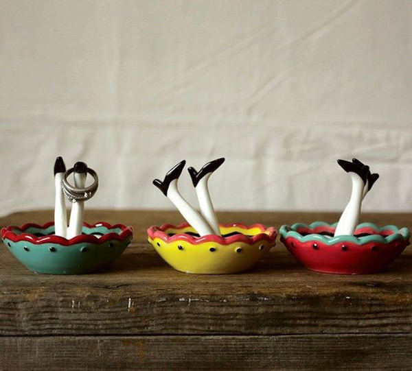 Creative & Cute Ring Holder Dish Set
