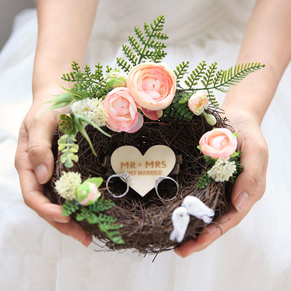 25 Beautiful Wedding Ring Holders