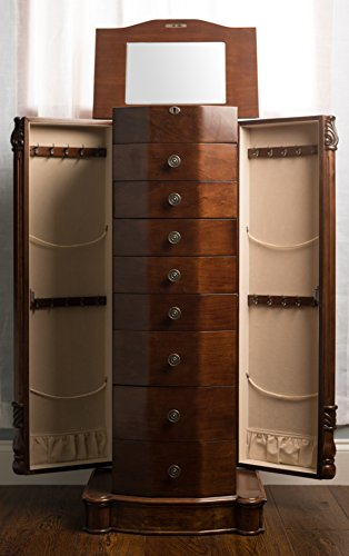 Hives And Honey Florence Jewelry Armoire Zen Merchandiser