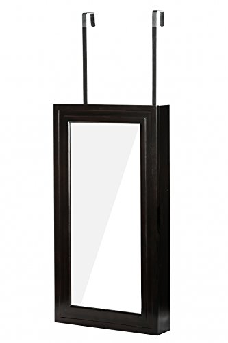 On Sale  sc 1 st  Zen Merchandiser & Modern Wall Mounted / Hanging Full Mirror Jewelry Storage Cabinet ...
