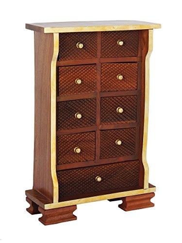 Storeindya Thanksgiving Gifts Wooden Keepsake Box Drawers