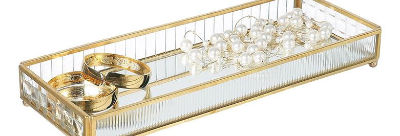 Beautiful Gold Jewelry Holders