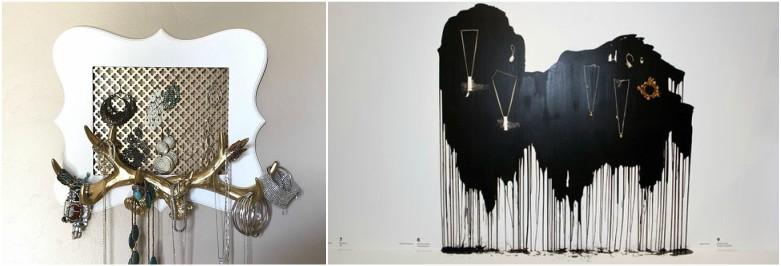 25 Beautiful Wall Mounted Jewelry Holders