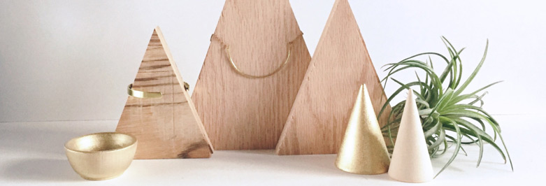Beautiful Wooden Jewelry Holders