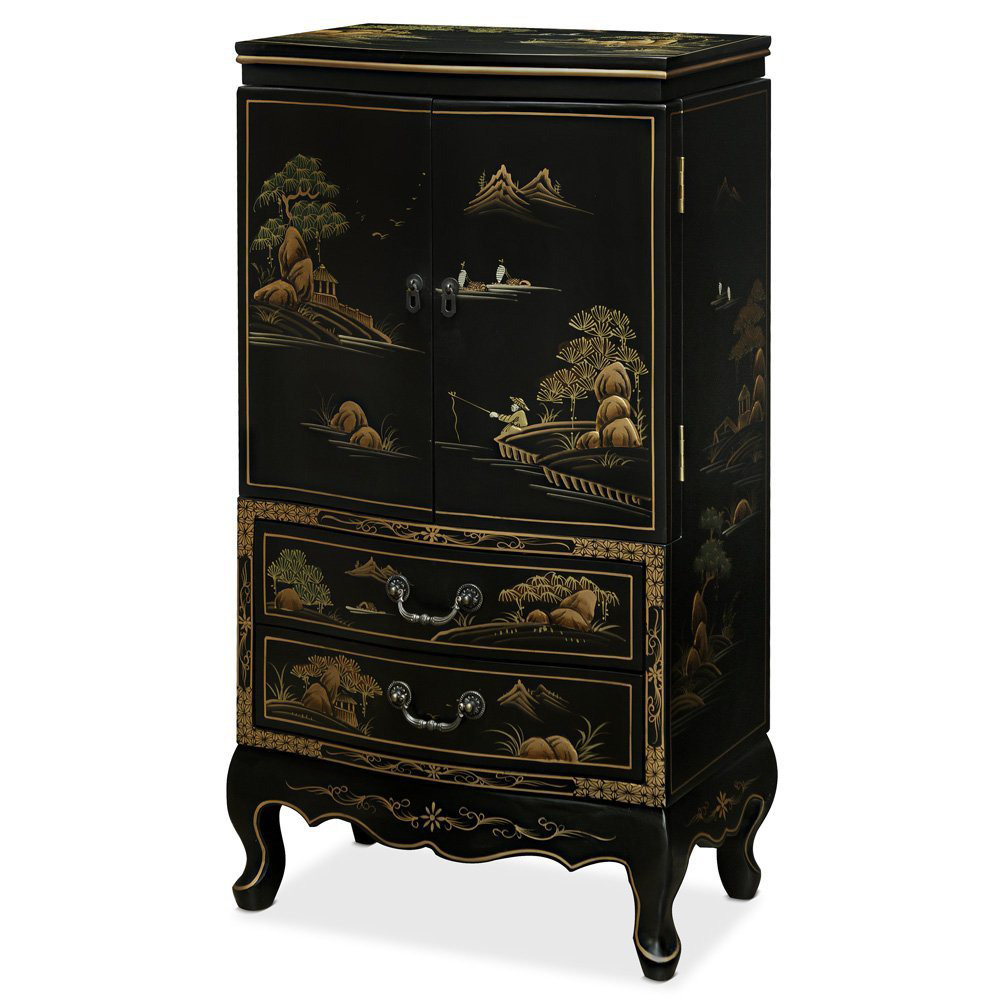 Chinese Traditional Jewelry Armoire