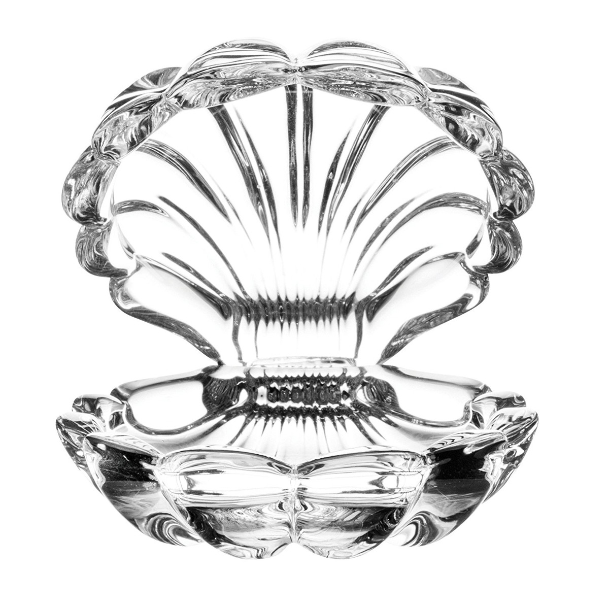 Clamshell Shaped Crystal Ring Holder