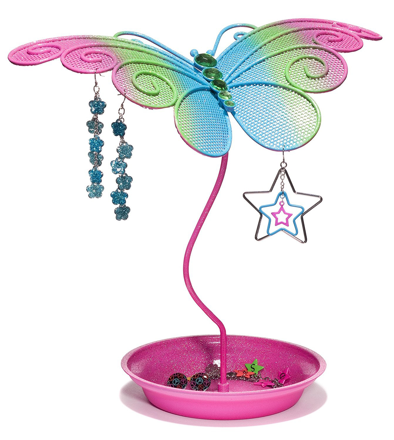 Creative Butterfly Shaped Earring Holder Stand