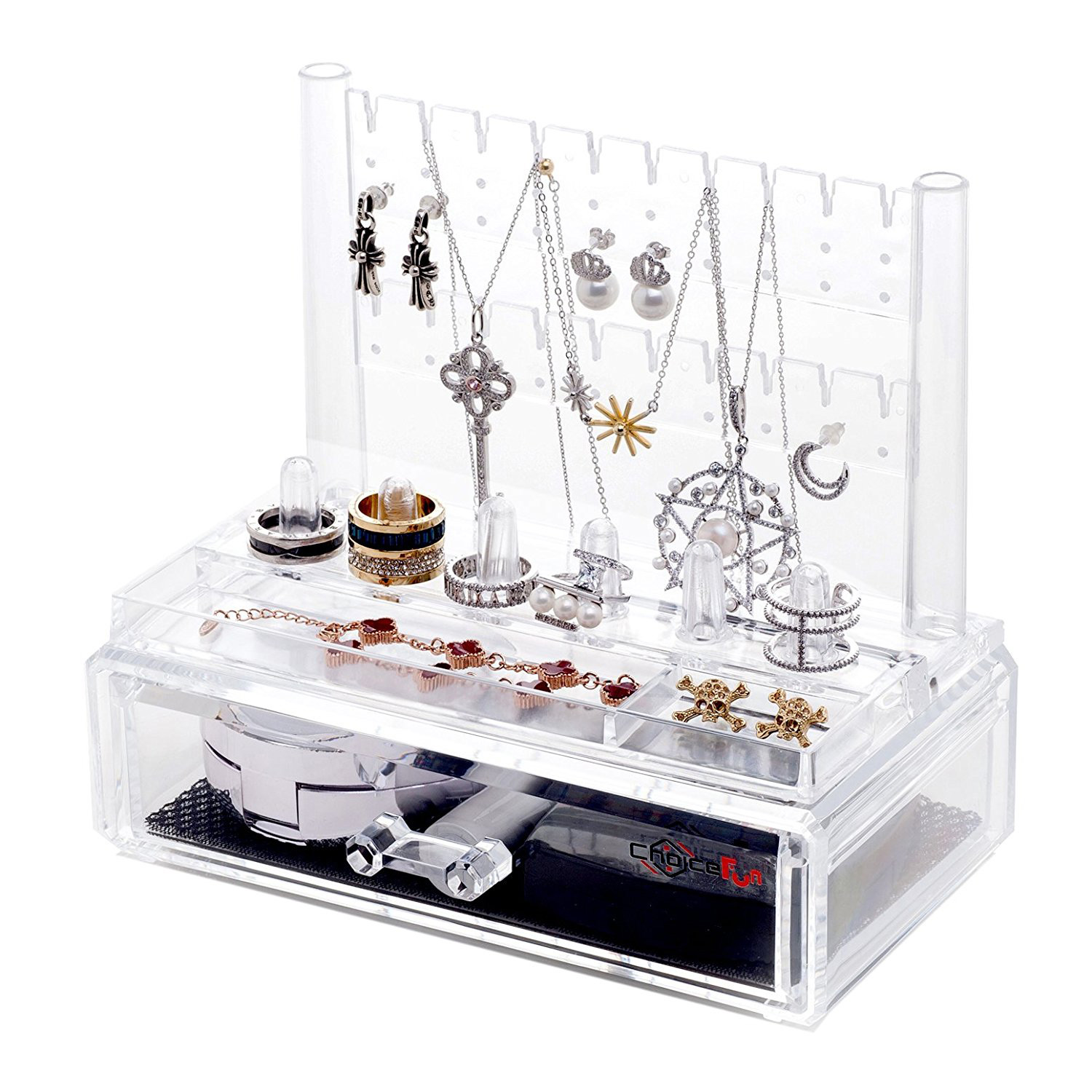 Multifunctional Acrylic Jewelry Display Platform